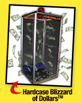 The Blizzard of Dollars Hardcase Cash Cube Money Blowing Machine